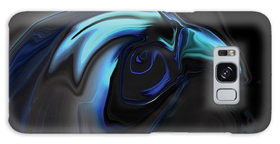 Birds Of Prey Galaxy Case featuring the digital art The Nighthawk by Rabi Khan