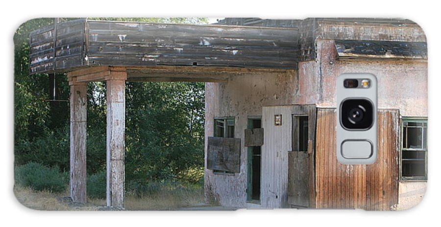 Old Building Galaxy S8 Case featuring the photograph The Old Station by JoJo Photography