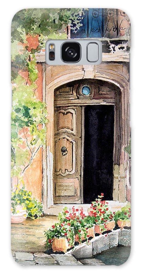 Door Galaxy S8 Case featuring the painting The Open Door by Sam Sidders
