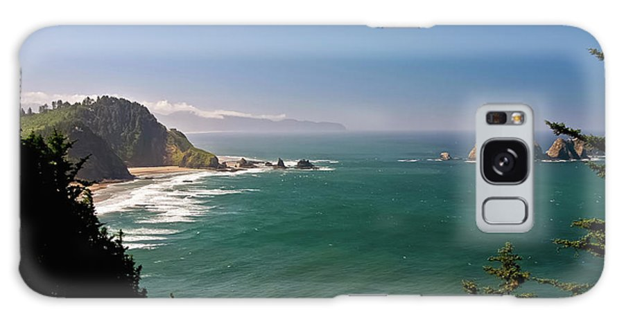 Oregon Galaxy S8 Case featuring the photograph The Oregon Coast by Albert Seger