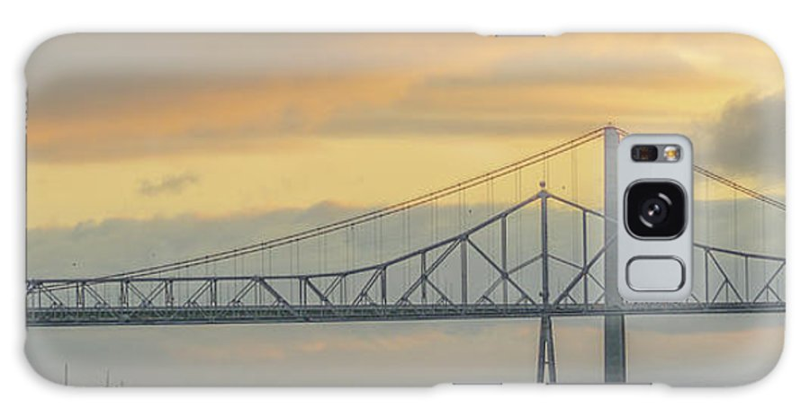 Vallejo Galaxy S8 Case featuring the photograph The Other Side Of The Bridge by Kristofer M Johnson