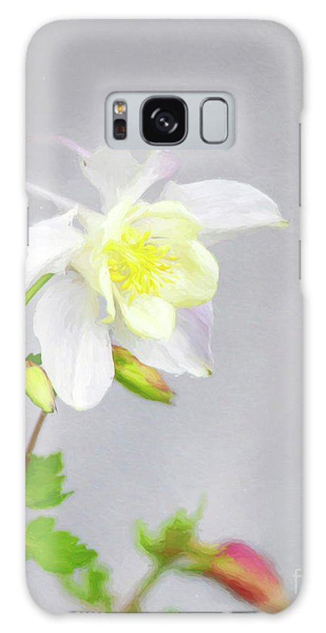 Columbine Galaxy S8 Case featuring the photograph The Painted Columbine by Carolyn Fox