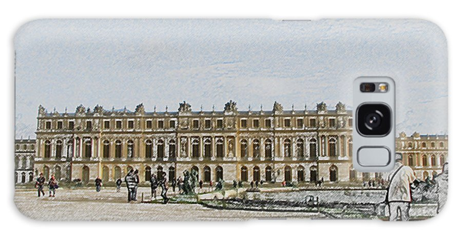 Palace Galaxy S8 Case featuring the photograph The Palace Of Versailles by Amanda Barcon
