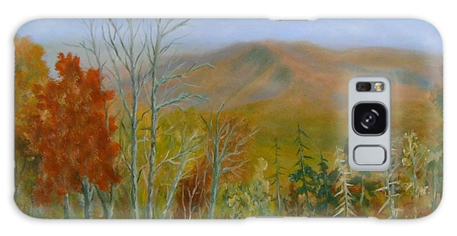Mountains; Trees; Fall Colors Galaxy S8 Case featuring the painting The Parkway View by Ben Kiger