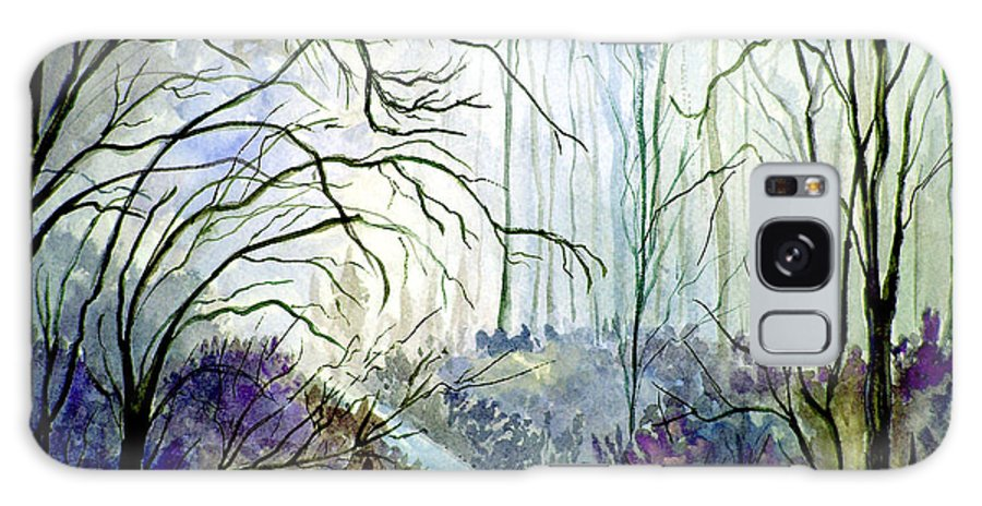 Watercolor Galaxy S8 Case featuring the painting The Path by Brenda Owen