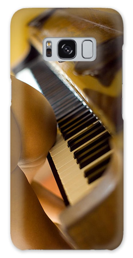 Sensual Galaxy Case featuring the photograph The Piano by Olivier De Rycke