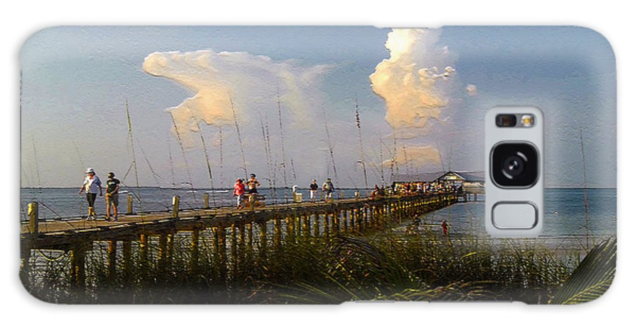 Pier Galaxy S8 Case featuring the photograph The Pier On Anna Maria Island by David Lee Thompson