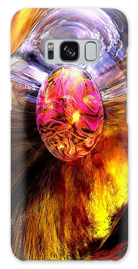 3d Galaxy S8 Case featuring the digital art The Pleasure Palace by Alexander Butler
