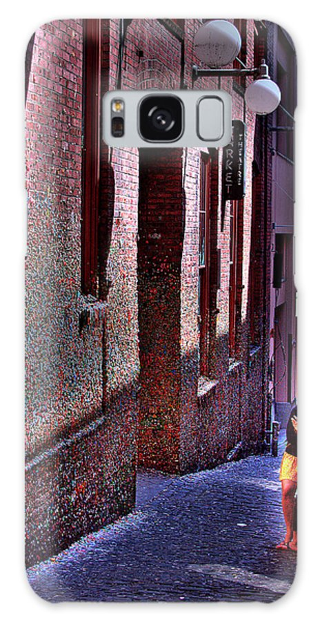 Gum Wall Galaxy S8 Case featuring the photograph The Post Alley Gum Wall by David Patterson