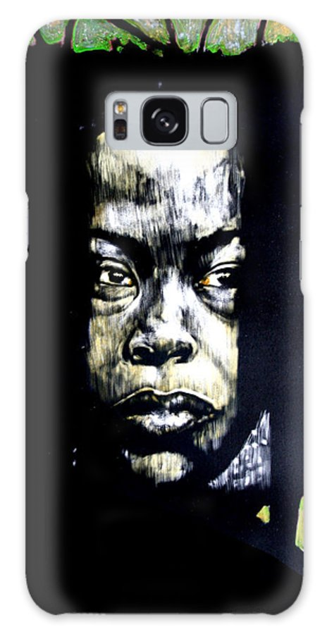 Portraits Galaxy S8 Case featuring the mixed media The Promise Of Spring by Chester Elmore