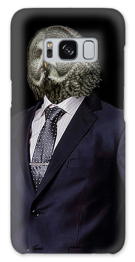 Great Galaxy S8 Case featuring the photograph The Prosecutor by Paul Neville