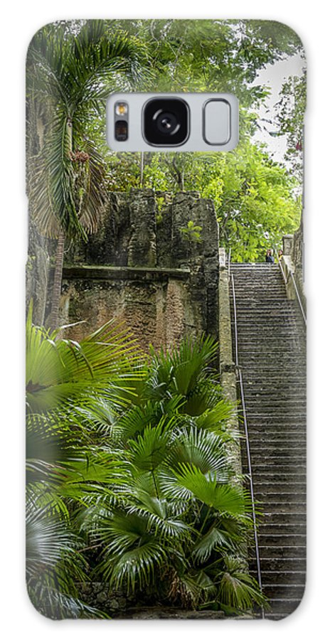 Nassau Galaxy S8 Case featuring the photograph The Queen's Staircase #1 by Vincent Asbjornsen