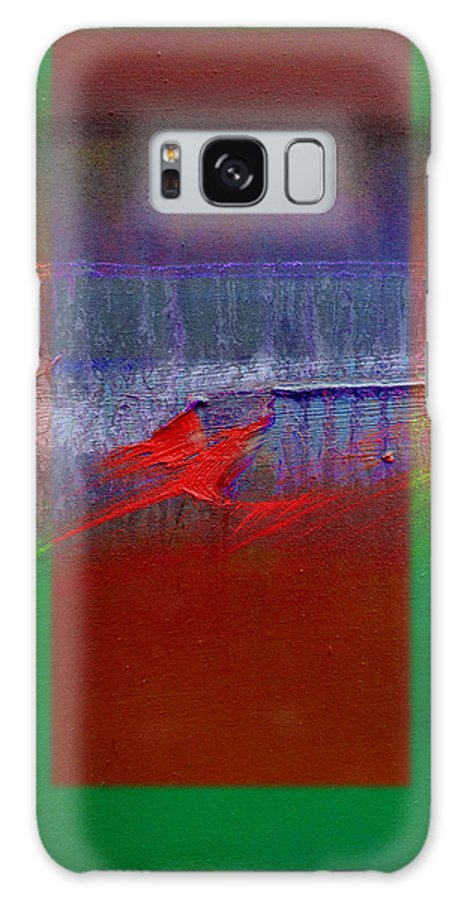 Landscape Galaxy S8 Case featuring the painting The Red Dragon Tatoo by Charles Stuart