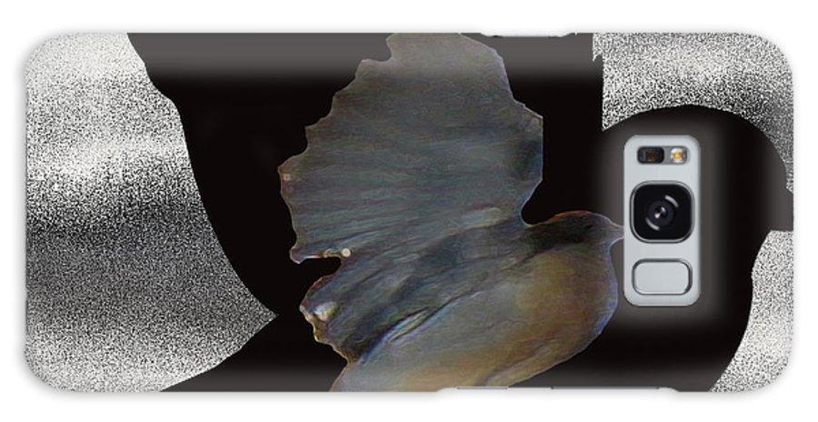 The Robin Flight Galaxy S8 Case featuring the digital art The Robin Flight by Debra   Vatalaro