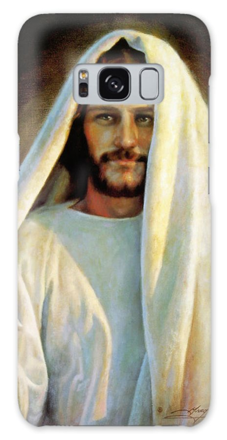 Jesus Galaxy Case featuring the painting The Savior by Greg Olsen