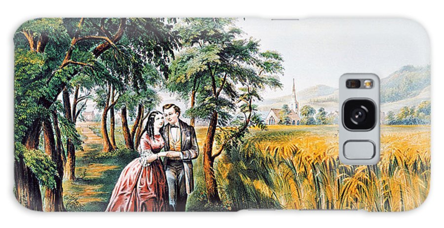 1868 Galaxy S8 Case featuring the photograph The Season Of Love by Granger