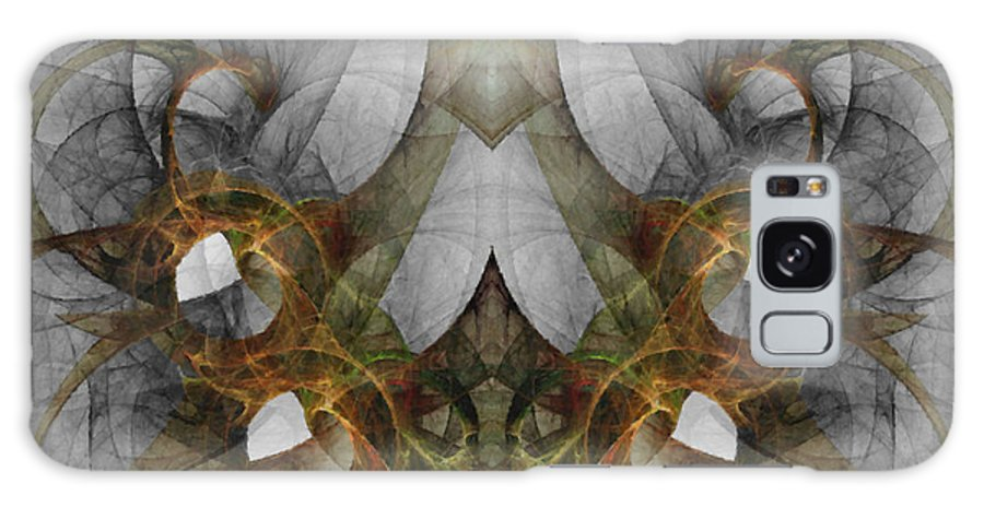 Abstract Galaxy Case featuring the digital art The Second Labor Of Herakles by NirvanaBlues