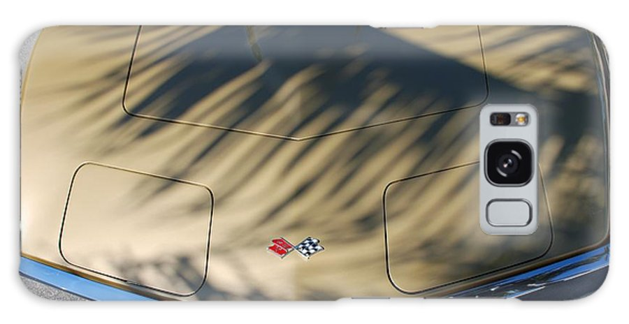 Corvette Galaxy S8 Case featuring the photograph The Shadow Vette by Rob Hans