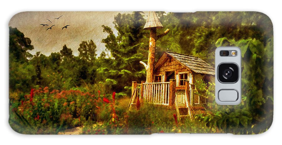 Playhouse Galaxy S8 Case featuring the digital art The Shire by Lois Bryan