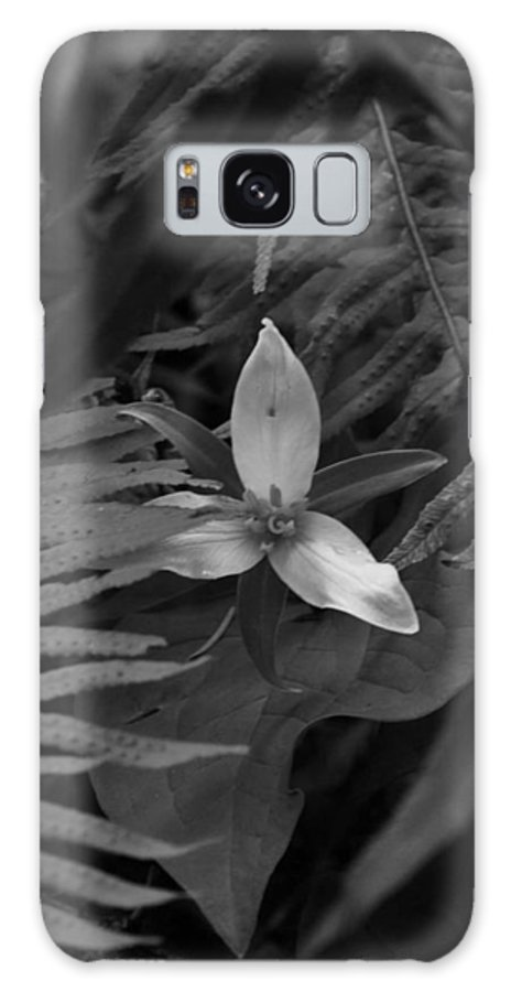 Flower Galaxy S8 Case featuring the photograph The Shy Trillium by Charles Lucas
