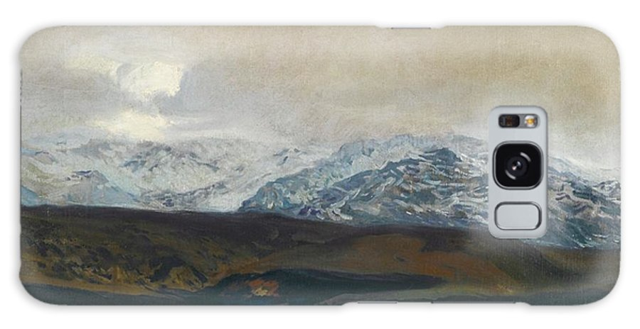 Joaquin Sorolla 1863 - 1923  The Sierra De Guadarrama Galaxy S8 Case featuring the painting The Sierra De Guadarrama by MotionAge Designs