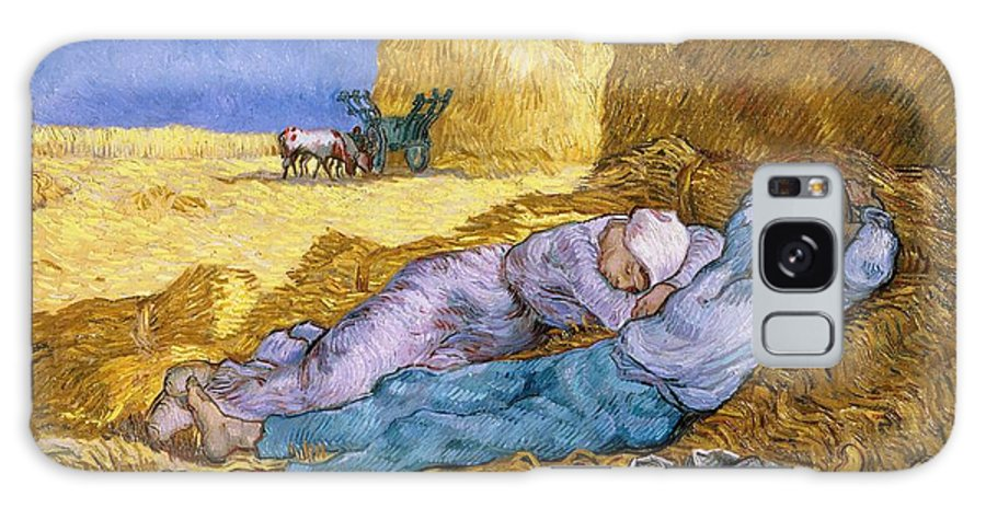 Noon Galaxy S8 Case featuring the painting The Siesta by Vincent Van Gogh