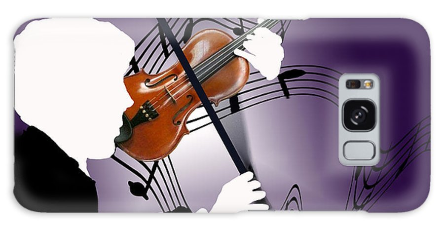 Violin Galaxy S8 Case featuring the digital art The Soloist by Steve Karol