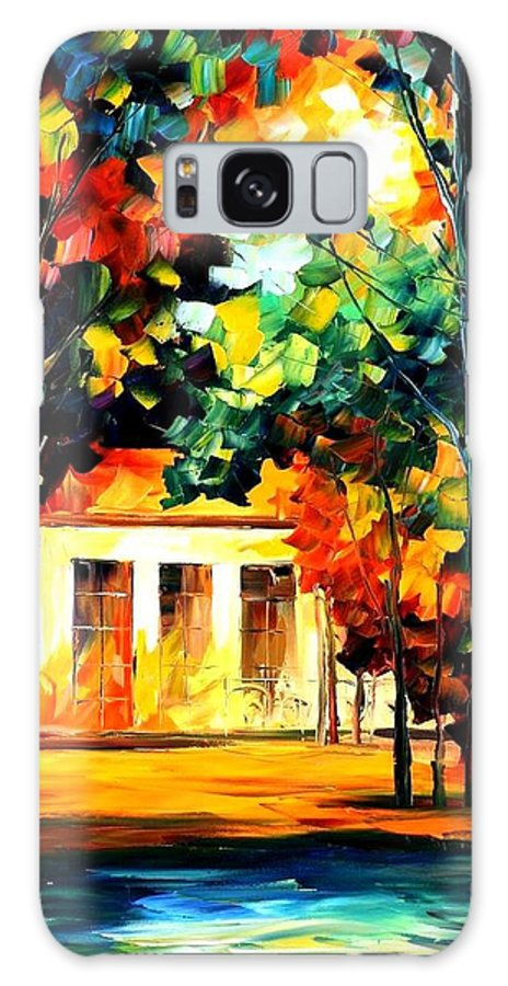 Afremov Galaxy S8 Case featuring the painting The Spirit Of The Night by Leonid Afremov