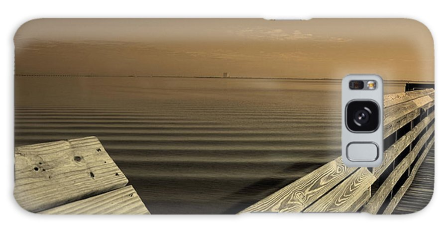 Pier Galaxy S8 Case featuring the photograph The Spot by Susanne Van Hulst