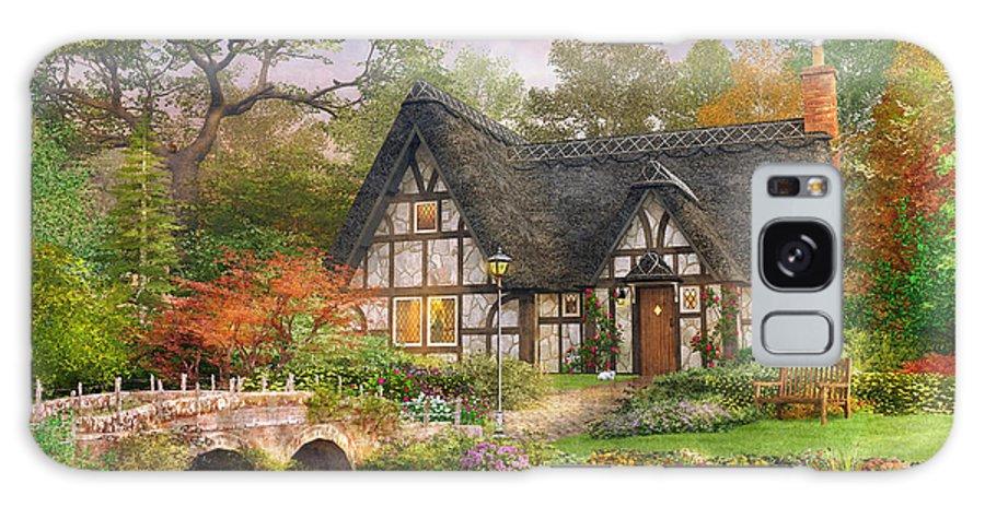 Dominic Davison Galaxy S8 Case featuring the photograph The Stoney Bridge Cottage by Dominic Davison