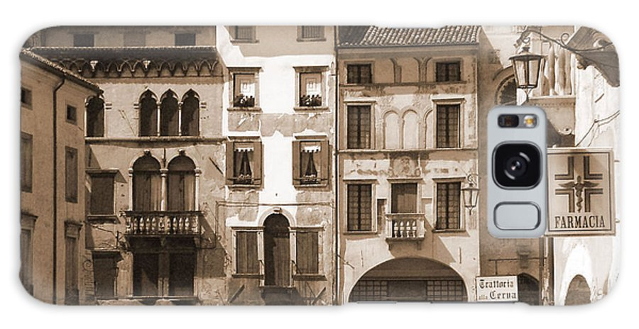 Landscape Galaxy Case featuring the photograph The Streets Of Vittorio Veneto by Donna Corless