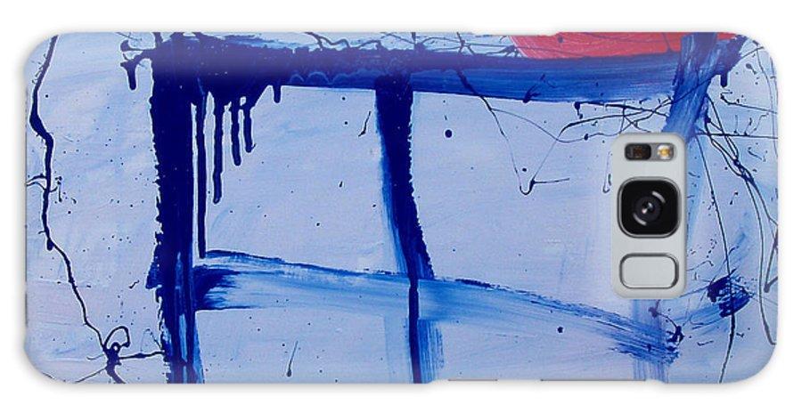 Sun Galaxy S8 Case featuring the painting The Sun Through My Window by Wayne Potrafka