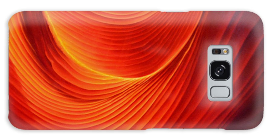 Antelope Canyon Galaxy Case featuring the painting The Swirl by Anni Adkins