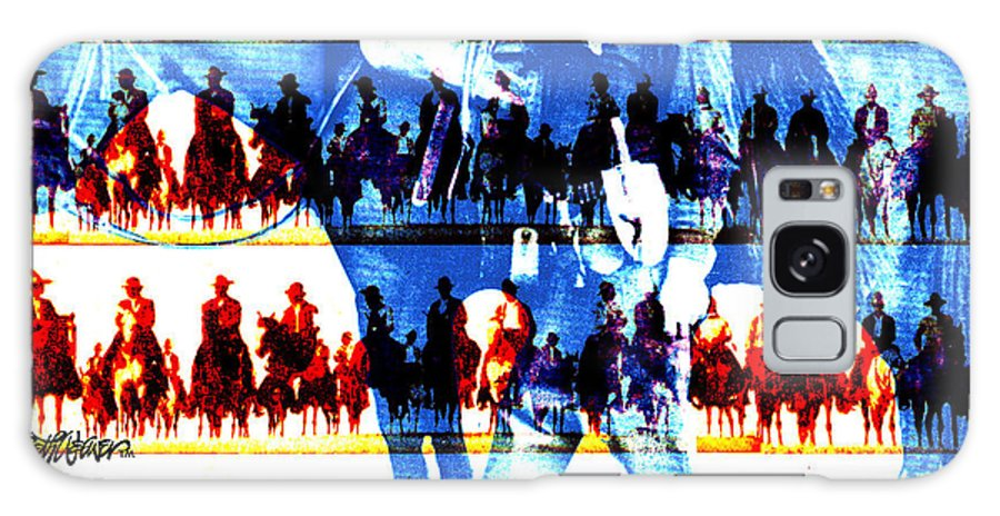 Cowboys Galaxy S8 Case featuring the digital art The Tenderfoot by Seth Weaver