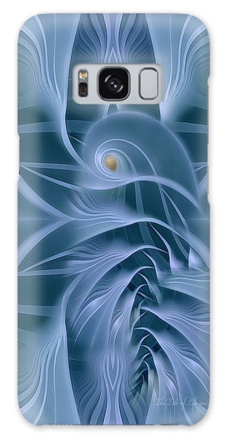 Fractal Galaxy S8 Case featuring the digital art The Tide Of Life by Gayle Odsather