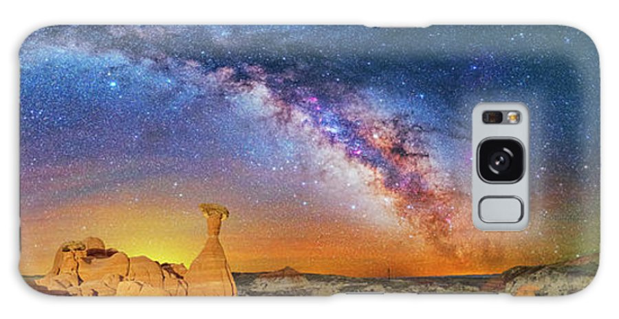 Astronomy Galaxy S8 Case featuring the photograph The Toadstool by Ralf Rohner