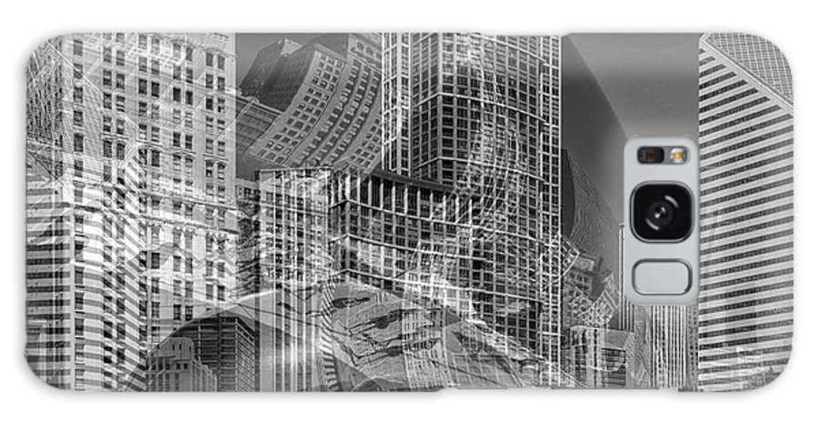 Chicago Galaxy S8 Case featuring the photograph The Tourists - Chicago II by Shankar Adiseshan