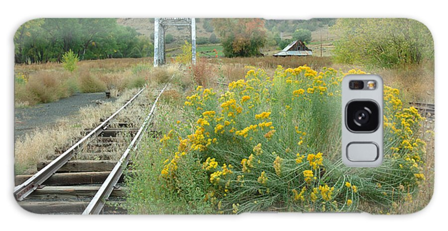 Train Galaxy S8 Case featuring the photograph The Tracks At Pagosa Junction by Jerry McElroy