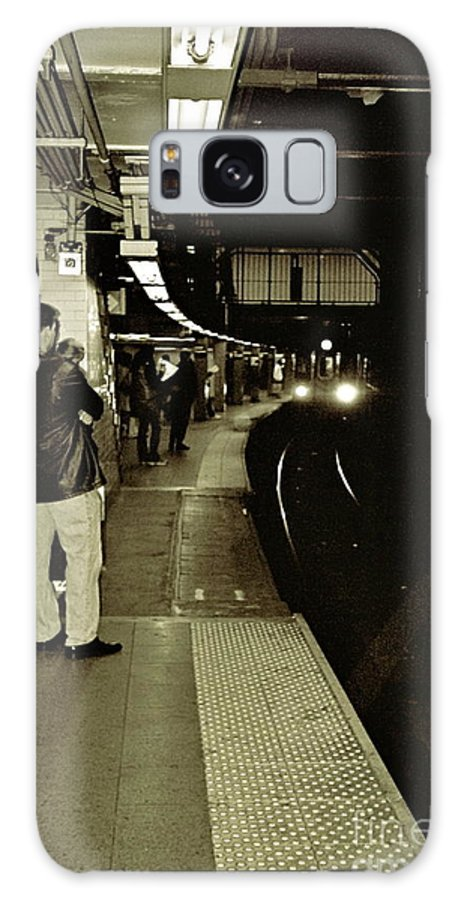 New York Galaxy S8 Case featuring the photograph The Underground by Amy Strong