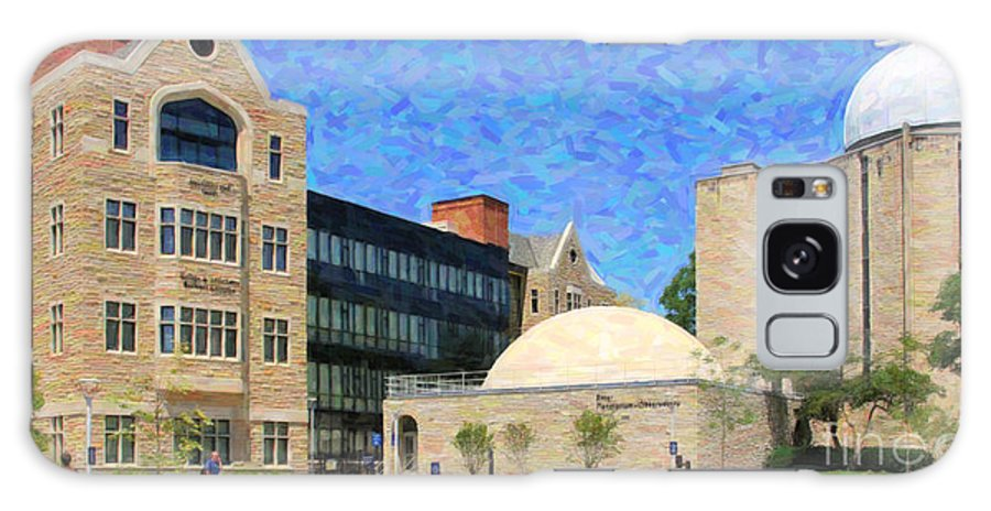 Stranahan Hall Galaxy S8 Case featuring the photograph The University Of Toledo by Jack Schultz