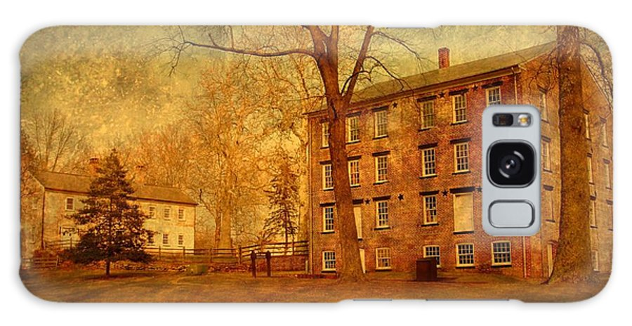 New Jersey Galaxy S8 Case featuring the photograph The Village - Allaire State Park by Angie Tirado