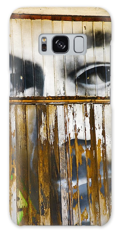 Escondido Galaxy Case featuring the photograph The Walls Have Eyes by Skip Hunt