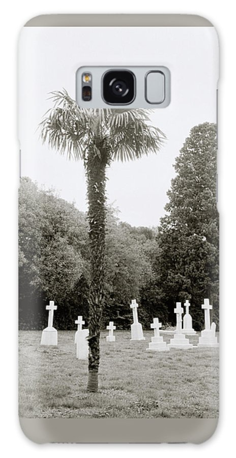 Cemetery Galaxy S8 Case featuring the photograph The War Cemetery by Shaun Higson