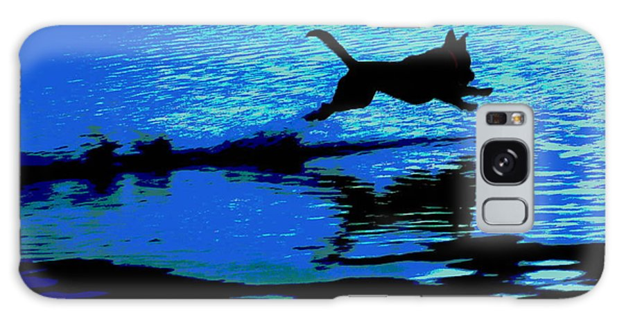 Water Galaxy S8 Case featuring the photograph The Water Dog - Debbie May.fineartamerica.com by Debbie May