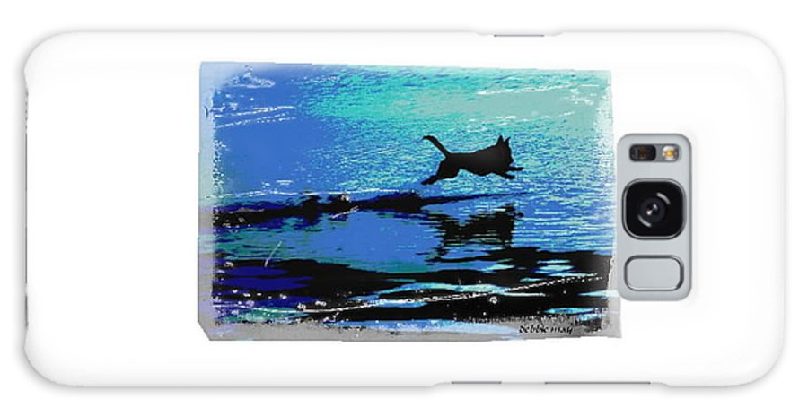 Water Galaxy S8 Case featuring the photograph The Water Dog 2 by Debbie May