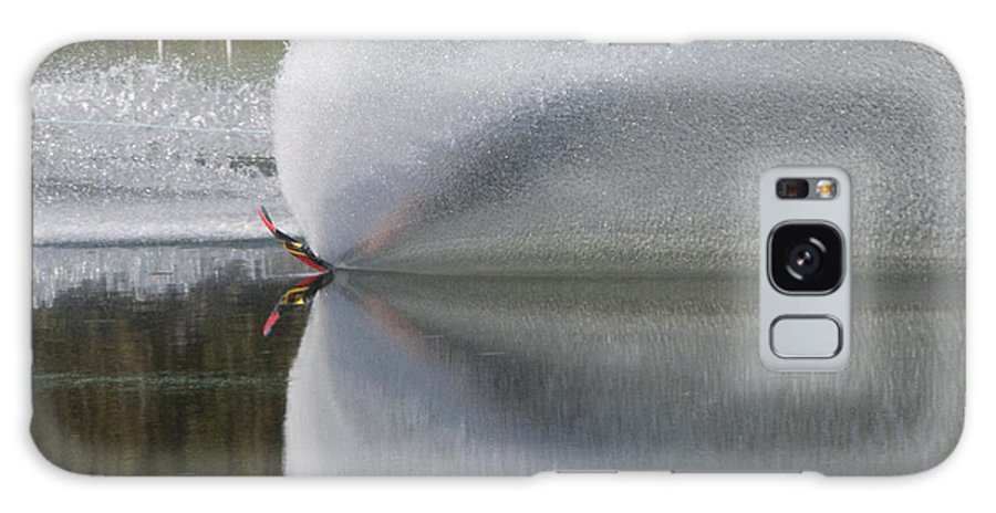 Waterskiing Galaxy S8 Case featuring the photograph The Water Skier by Steven Natanson