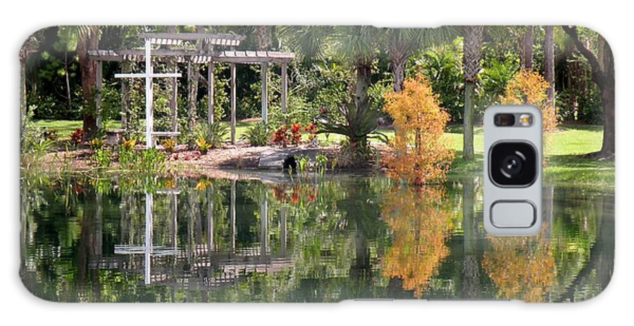 Garden Galaxy S8 Case featuring the photograph The Wedding Garden by Rosalie Scanlon