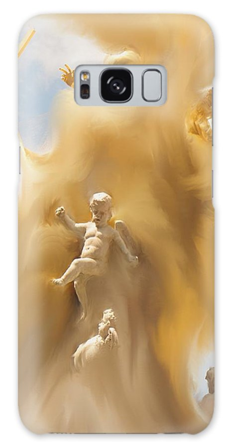 Religion Galaxy S8 Case featuring the digital art The Whirlwind by Ian MacDonald