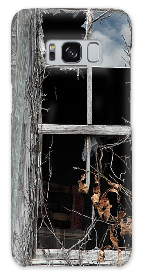 Windows Galaxy S8 Case featuring the photograph The Window by Amanda Barcon
