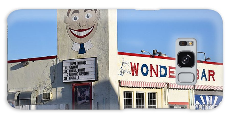 Wonder Bar Galaxy S8 Case featuring the photograph The Wonder Bar, Asbury Park by Bob Cuthbert